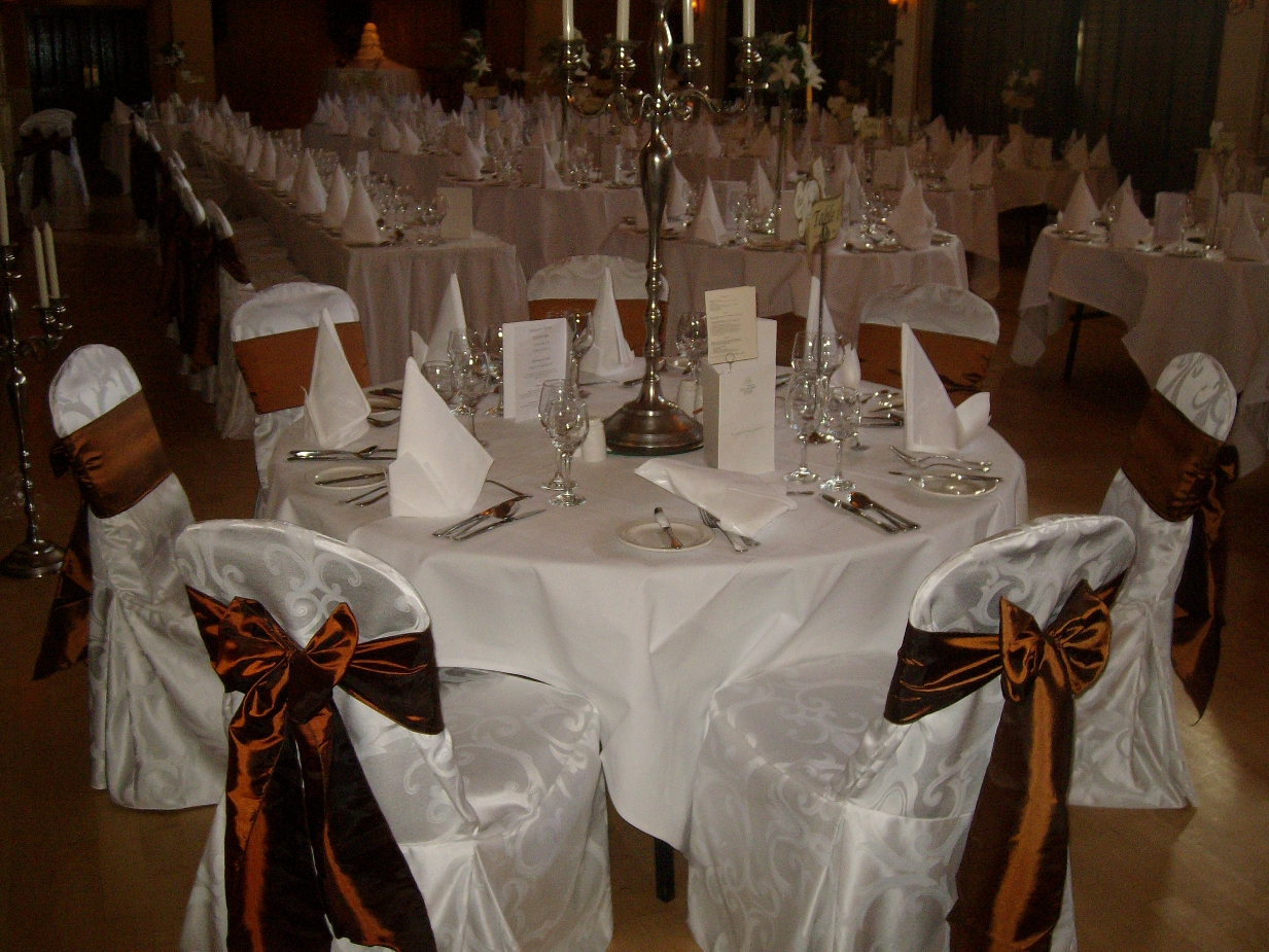 Chocolate Brown Sashes